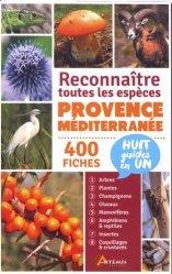 Dernières parutions sur Faune terrestre, Provence-Méditerranée, reconnaître toutes les espèces