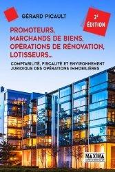 Dernières parutions sur Immobilier et droit de la construction, Promoteurs, marchands de bien, opérations de rénovation, lotisseurs...