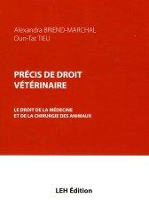 Dernières parutions sur Vétérinaire, Précis de droit vétérinaire