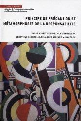 Dernières parutions dans Institut des sciences juridique et philosophique de la Sorbonne, Principe de précaution et métamorphoses de la responsabilité
