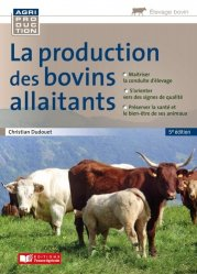 Dernières parutions sur Sciences de la Vie, Production des bovins allaitants