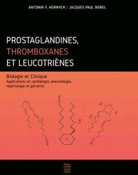 Dernières parutions sur Pharmacologie médicale, Prostaglandines, thromboxanes et leucotriènes