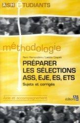 Dernières parutions dans ASH étudiants, Préparation les sélections ASS, EJE, ES, ETS