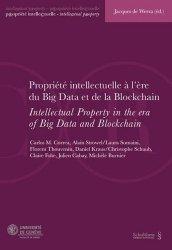 Dernières parutions sur Propriété littéraire et artistique, Propriété intellectuelle à l'ère du big data et de la blockchain