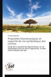 Dernières parutions sur Agriculture dans le monde, Propriétés biomécaniques et capacité de vie symbiotique des racines
