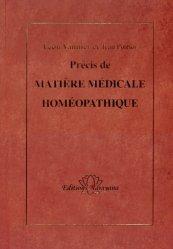 Souvent acheté avec Synthesis, le Précis de Matière Médicale homéopathique