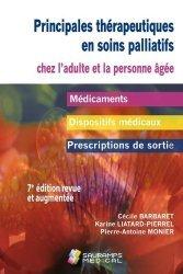 Dernières parutions sur Soins palliatifs, Principales thérapeutiques en soins palliatifs 7ed