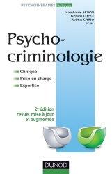 Dernières parutions sur Psychiatrie légale, Psychocriminologie