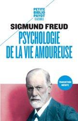 Souvent acheté avec Dictionnaire de psychologie, le Psychologie de la vie amoureuse
