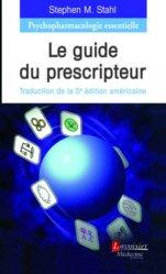 Souvent acheté avec L'enfermement psychiatrique, le Psychopharmacologie essentielle : Le guide du prescripteur