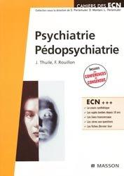 Souvent acheté avec Gériatrie, le Psychiatrie - Pédopsychiatrie