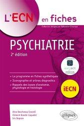 Dernières parutions dans L'ECN en fiches, Psychiatrie