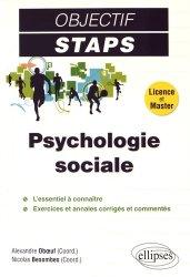 Dernières parutions dans Objectif STAPS, Psychologie sociale