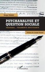 Dernières parutions sur Essais, Psychanalyse et question sociale