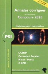 Dernières parutions dans Annales des concours, PSI mathématiques et informatique