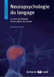 Dernières parutions dans Neuropsychologie, Psycho-neurologie du langage