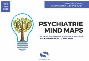 Dernières parutions sur Fiches ECN / iECN, Psychiatrie : mind maps