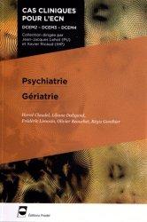 Souvent acheté avec Lecture critique d'articles, le Psychiatrie - Gériatrie