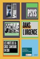 Dernières parutions sur Psychologie sociale, Psys dans l'urgence