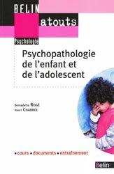 Souvent acheté avec Mémento de psychiatrie légale, le Psychopathologie de l'enfant et de l'adolescent