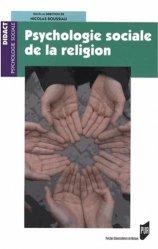 Dernières parutions dans Didact Psychologie sociale, Psychologie sociale de la religion majbook ème édition, majbook 1ère édition, livre ecn major, livre ecn, fiche ecn