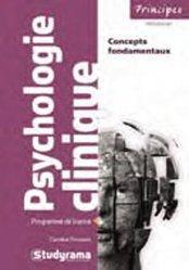 Dernières parutions dans Principes, Psychologie clinique majbook ème édition, majbook 1ère édition, livre ecn major, livre ecn, fiche ecn