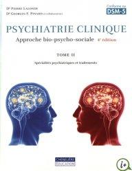 Souvent acheté avec Enfance et psychopathologie, le Psychiatrie clinique Tome 2