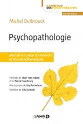 Dernières parutions sur Psychopathologie de l'adulte, Psychopathologie