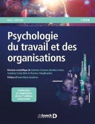 Dernières parutions sur Psychologie sociale, Psychologie du travail et des organisations