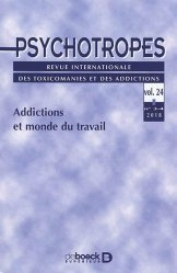 Dernières parutions sur Psychologie des organisations, Psychotropes, n° 3-4