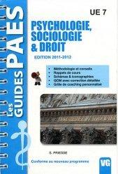 Dernières parutions sur UE 7, Psychologie - Sociologie & Droit  UE7