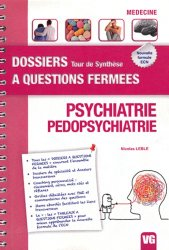 Souvent acheté avec Psychiatrie en milieu carcéral, le Psychiatrie - Pédopsychiatrie