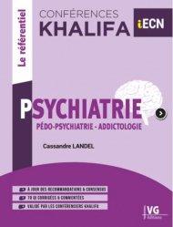 Dernières parutions sur ECN iECN DFASM DCEM, Psychiatrie, pédopsychiatrie, addictologie