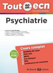 Dernières parutions dans Tout en un ECN, Psychiatrie
