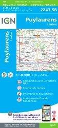 Dernières parutions sur Midi-Pyrénées, Puylaurens, Lautrec. 1/25 000
