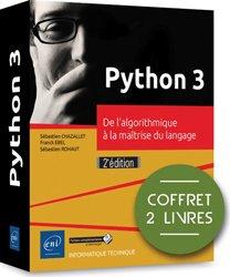 Dernières parutions dans Coffret Ressources, Python 3 - coffret de 2 livres : de l'algorithmique a la maitrise du langage (2e edition)