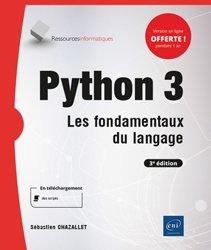 Dernières parutions dans Ressources Informatiques, Python 3