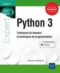 Dernières parutions sur Techniques de programmation, Python 3