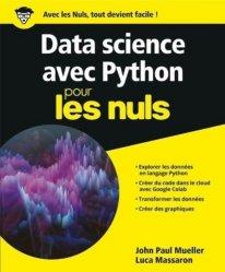 Dernières parutions sur Techniques de programmation, Python pour la data science pour les nuls