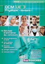 Souvent acheté avec Biostatistique et probabilités, le QCM UE3 Physique