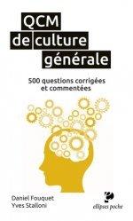 Dernières parutions dans Ellipses poche, QCM de culture générale. 500 questions corrigées et commentées