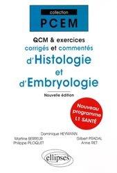 Souvent acheté avec Formulaire PCEM 1, le QCM et exercices corrigés et commentés d'histologie et d'embryologie biologie cellulaire, biologie moléculaire, embryologie, histologie, immunologie