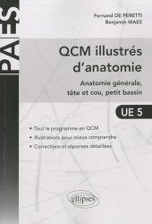 Souvent acheté avec Thorax, le QCM illustrés d'anatomie