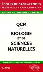 Souvent acheté avec Tests psychotechniques Tous concours paramédicaux et sociaux, le QCM de biologie et de sciences naturelles