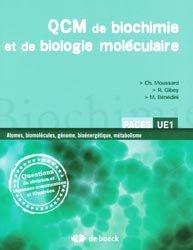 Souvent acheté avec Sciences humaines en médecine : questions d'aujourd'hui, le QCM de biochimie et de biologie moléculaire
