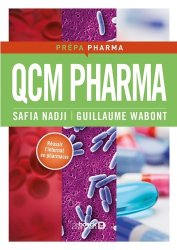Souvent acheté avec Parasitologie Mycologie, le QCM PHARMA