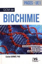 Dernières parutions sur QCM POUR L'UE1, QCM de biochimie