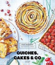 Dernières parutions sur Quiches et tartes salées, Quiches, cakes & Co