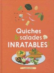 Dernières parutions sur Quiches et tartes salées, Quiches et salades inratables !