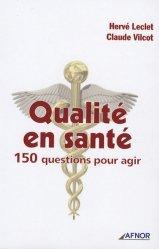 Souvent acheté avec L'anglais médical, le Qualité en santé